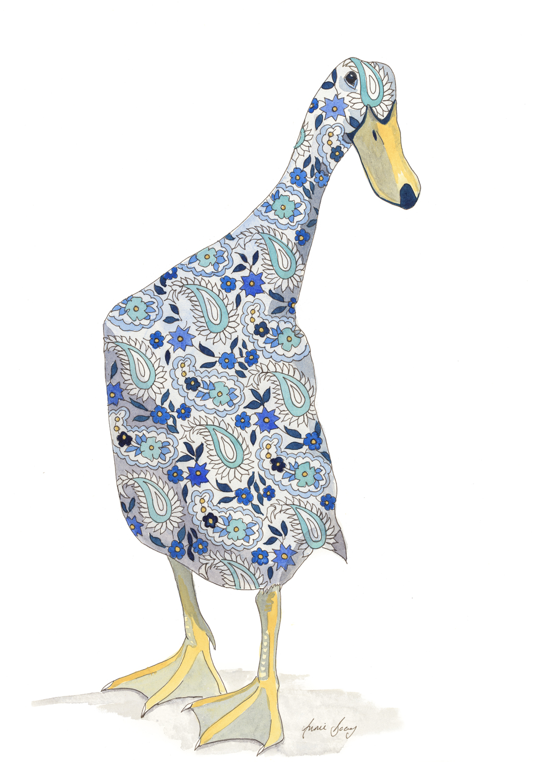 Blue-Paisley-Duck-small